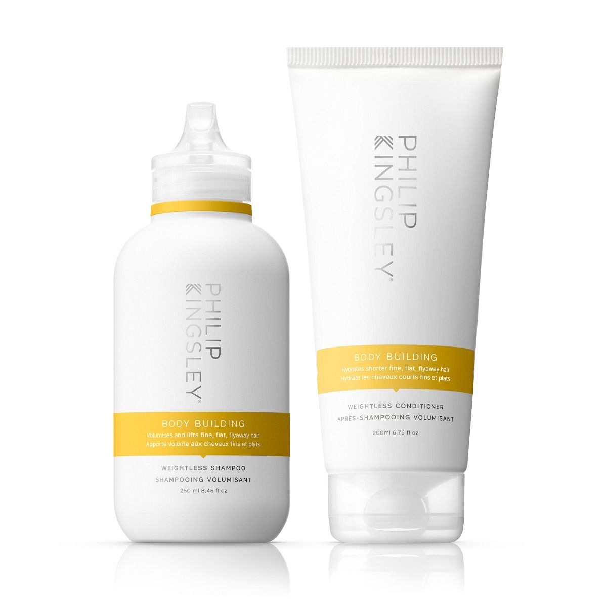 Body Building Weightless Shampoo & Body Building Weightless Conditioner Duo