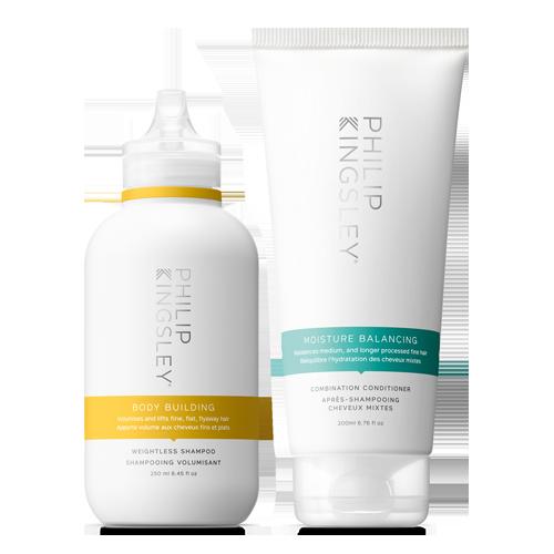 Body Building Weightless Shampoo & Moisture Balancing Combination Conditioner Duo