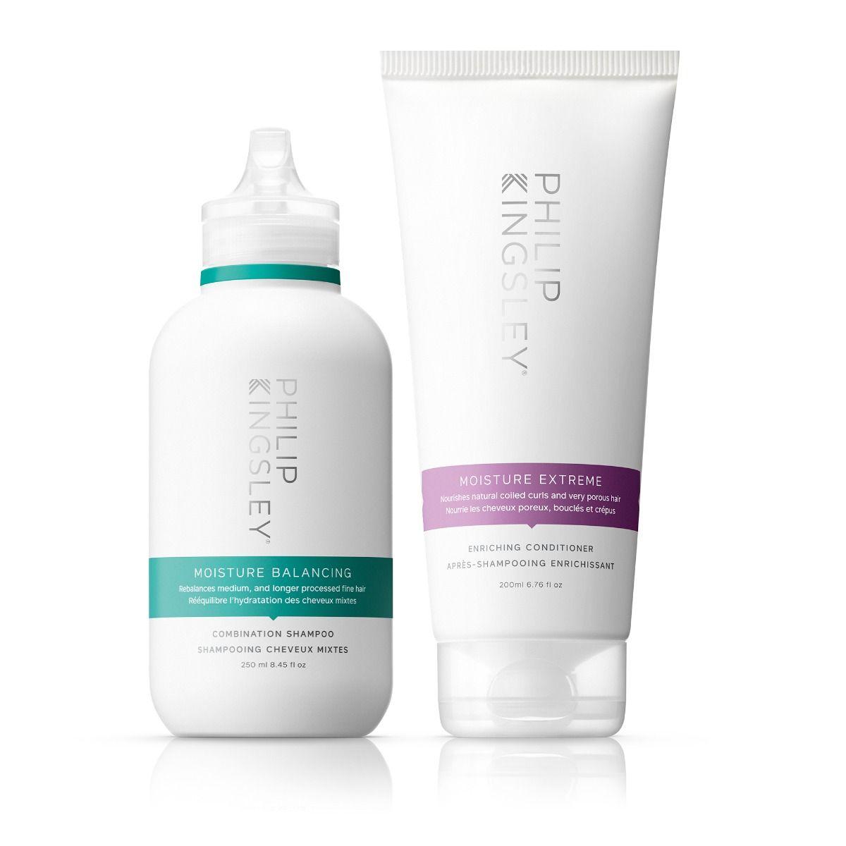 Moisture Balancing Combination Shampoo & Moisture Extreme Enriching Conditioner Duo