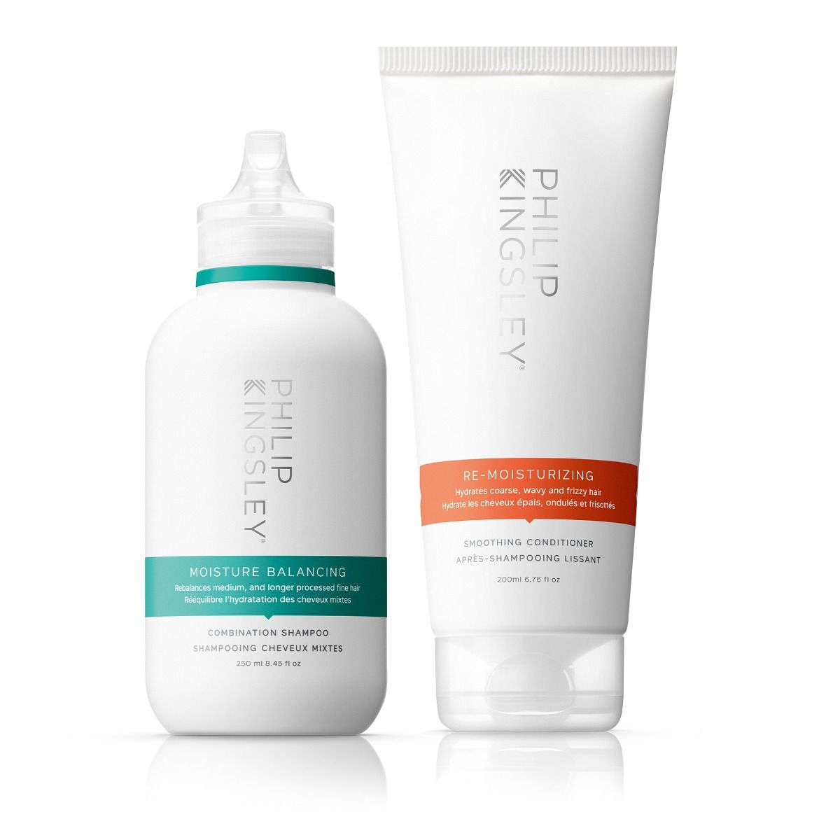Moisture Balancing Combination Shampoo & Re-Moisturizing Smoothing Conditioner Duo
