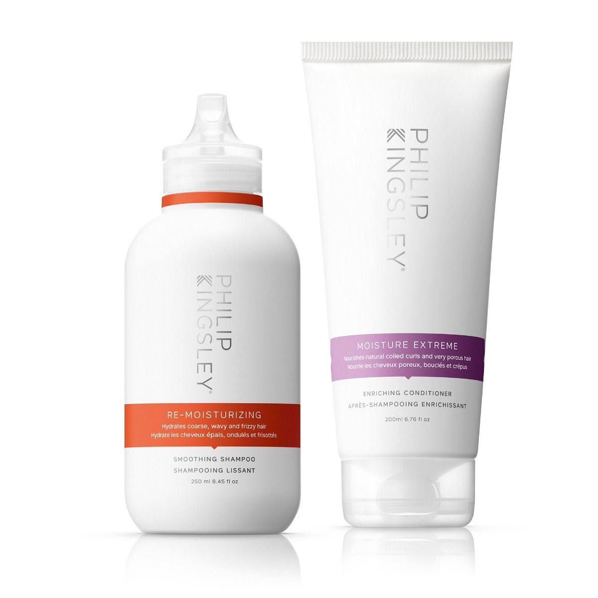 Re-Moisturizing Smoothing Shampoo & Moisture Extreme Enriching Conditioner
