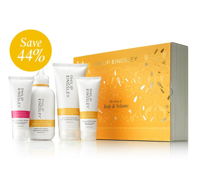 The Story of Body & Volume (Worth £81)